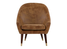 Seattle Armchair, Outback Tan Premium Leather