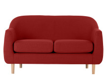Tubby 2 Seater Sofa, Postbox Red