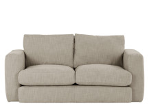Walter 2 Seater Sofa, Stone Cotton