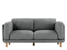 Dulcie 2 seater, Textured Grey