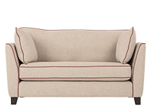 Wolseley 2 Seater Sofa, Fawn Beige Wool