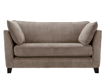 Wolseley 2 Seater Sofa, Mushroom Brown Corduroy