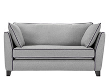 Wolseley 2 Seater Sofa, Wolf Grey Wool Mix