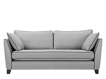 Wolseley 3 Seater Sofa, Wolf Grey Wool Mix