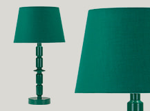 Bailey Table Lamp, Green