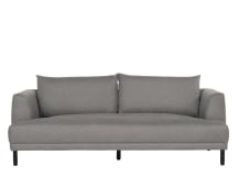 Bowery 3 seater sofa, Fossil Grey