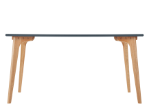 Fjord Rectangle Dining Table, Oak and Blue