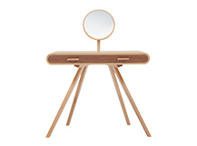 Fonteyn Dressing Table, Oak and Walnut