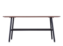 Haywood Coffee Table, Walnut and Black