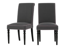 2 x Hoverton Dining Chairs, quarry grey