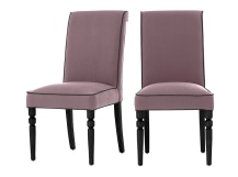 2 x Hoverton Dining Chairs, Orchid