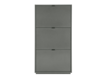 Marcell Shoe Storage Cabinet, Grey