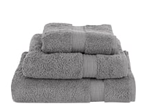 Mercer Egyptian Cotton 700GSM Towels, Elephant Grey