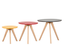 3 x Orion Side Tables, Multicolour
