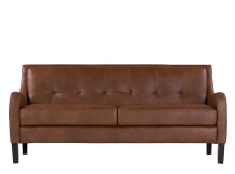 Isaac 3 Seater sofa, Cognac Premium Leather