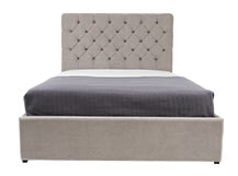 Skye Kingsize Bed With Storage, Owl Grey