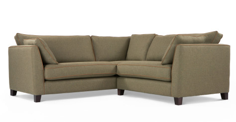 Wolseley Corner Sofa Group, Wool Tweed