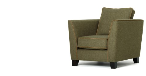 Wolseley Armchair, Wool Tweed
