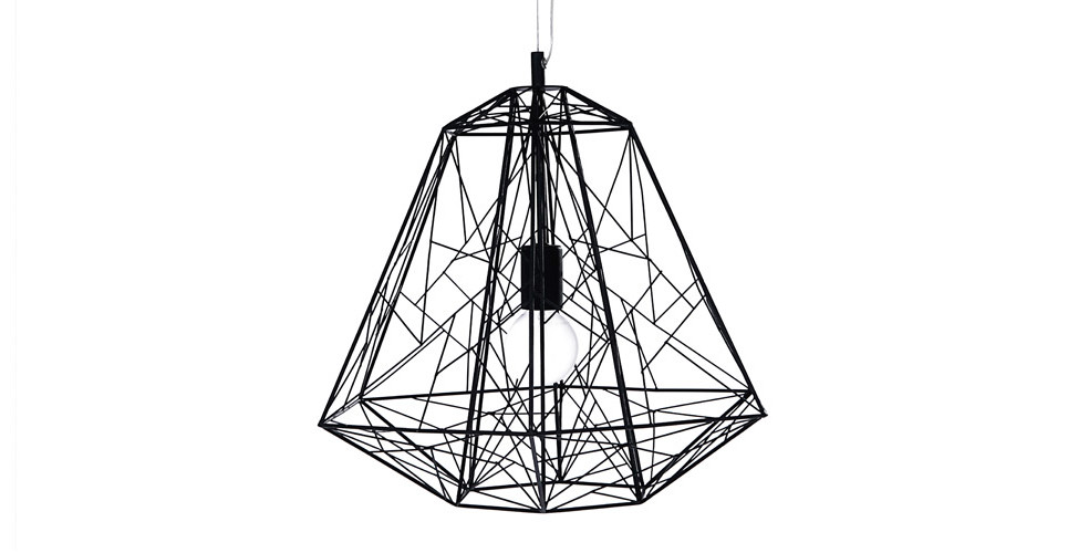 Hive, une suspension, noir | made.com