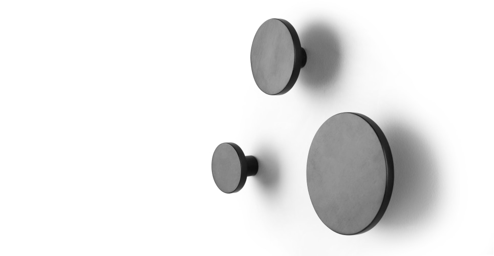 apartment wall hooks matt black. Black Bedroom Furniture Sets. Home Design Ideas