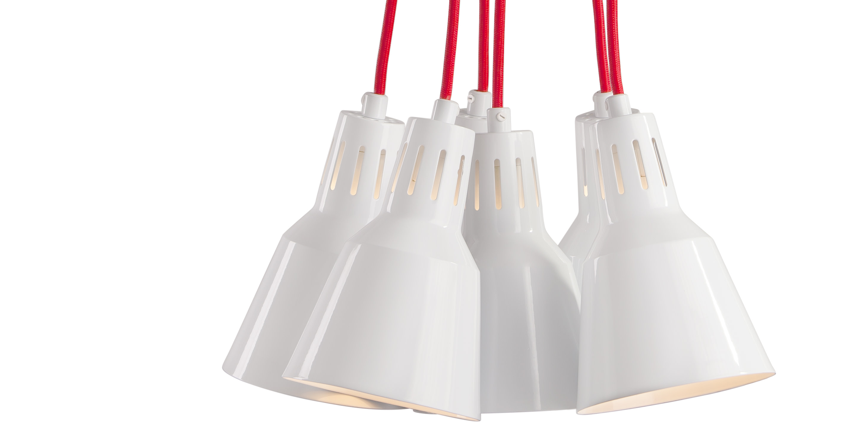 Arnold, suspension multiple, blanc