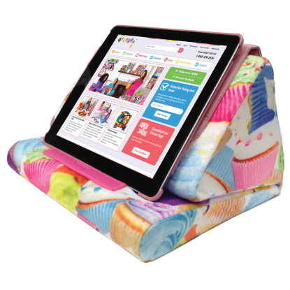 Picture of Cupcakes Tablet Pillow