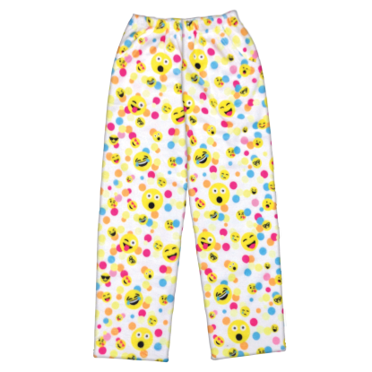 Picture of Confetti Emojis Plush Pants