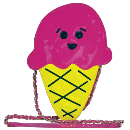 Picture of Ice Cream Cone Crossbody Bag
