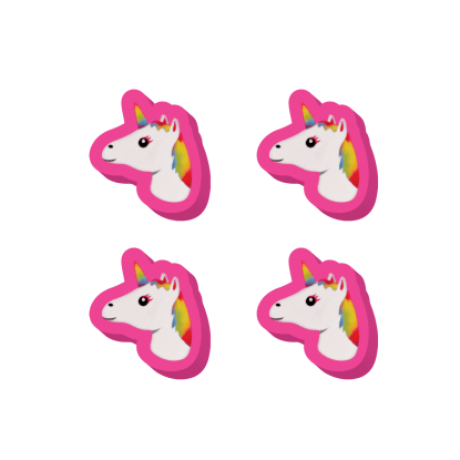 Picture of Unicorn Emojis Mini Eraser Set