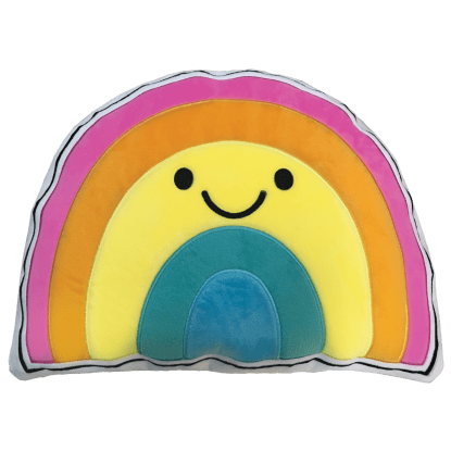 Picture of Rainbow Smile Scented Embroidered Pillow