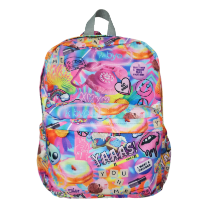 Picture of Psychedelic Collage Classic Backpack