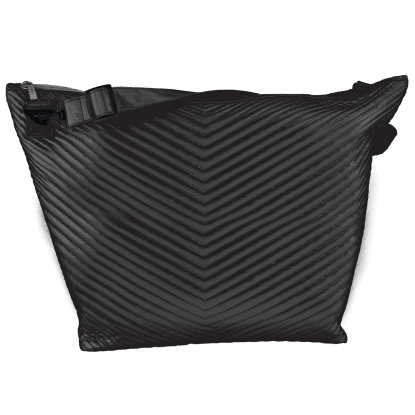 Picture of Black Chevron Weekender Bag