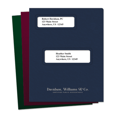 Picture of Offset Small Windows Tax Software Folders