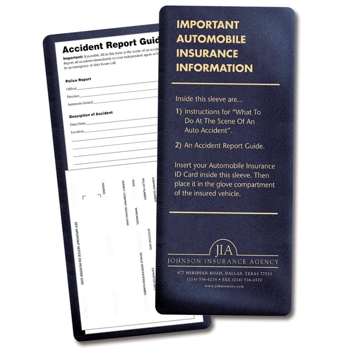 picture of insurance card holder kit - Insurance Card Holder
