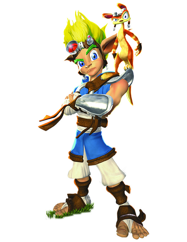 Jak and Daxter, Character Art