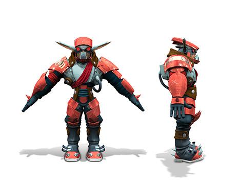 Jak II, Character Art 3D