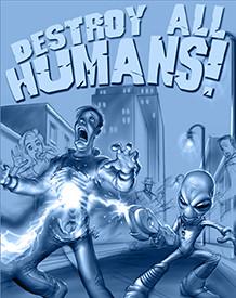 Destroy All Humans, Concept Art