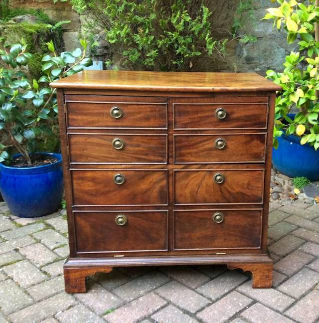 Converted commode