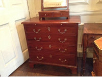 Rare small Georgian chest of drawers