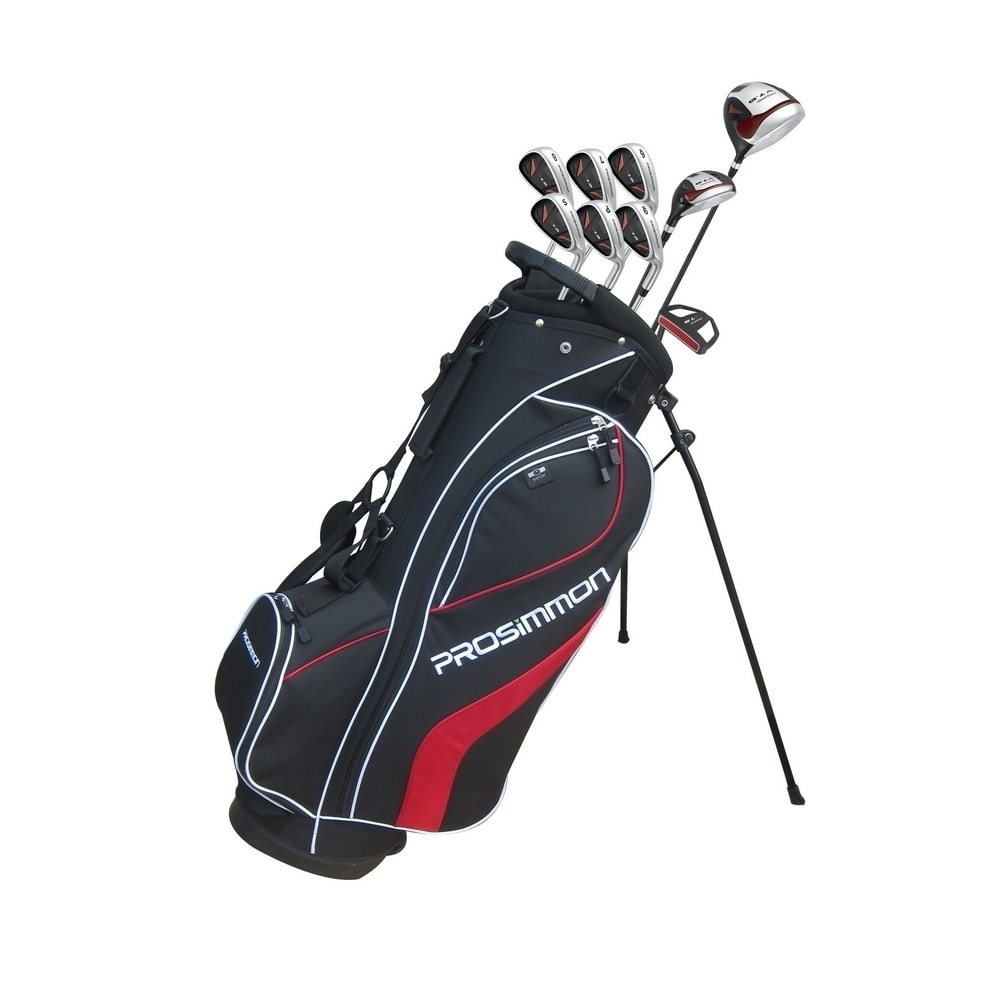 Prosimmon_V7_Golf_Package_Set_1_Inch_Short_Black__Stiff_Flex