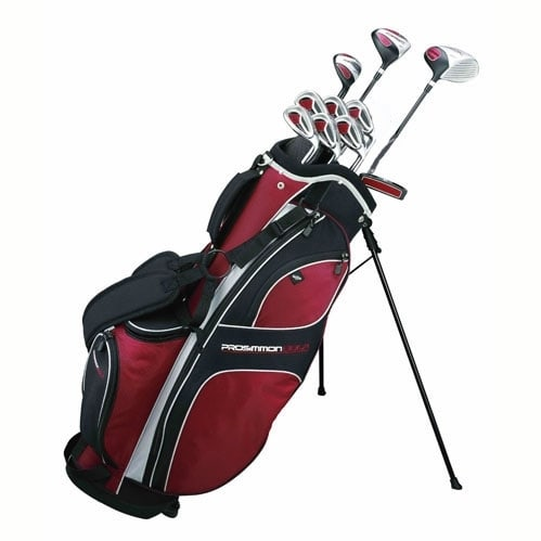 Prosimmon_DRK_Lefty_All_Graphite_Golf_Set__Bag