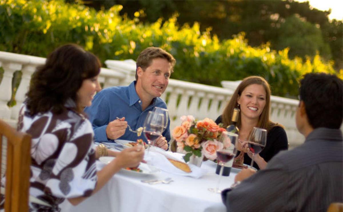 Dining in Monterey