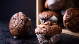 Chocolate protein muffins sound wonderful! Image: Supplied.