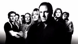 The cast of the Sopranos (HBO Entertainment).