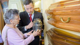 Funeral directors prey on the vulnerable.