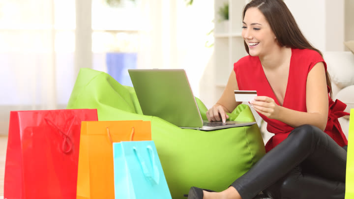 Shop safely from the comfort of home by following these simple rules.