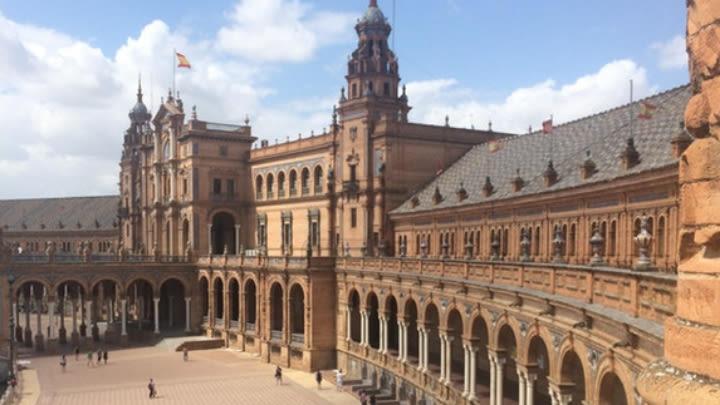 Seville, Spain (Image uploaded to Reddit by u/reddithellyeah).