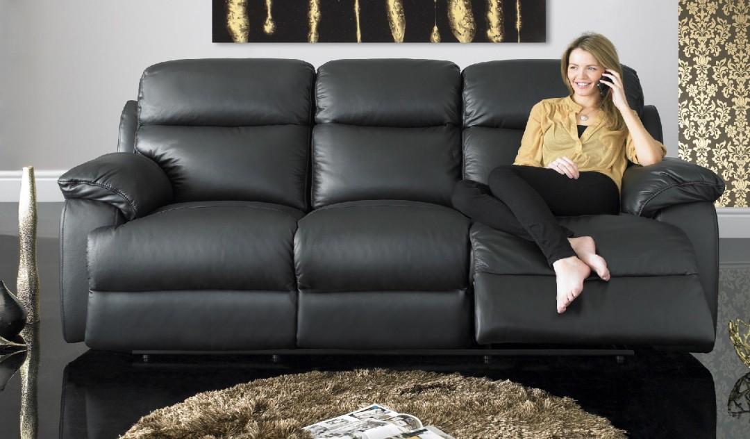 Quebec leather sofa range sofology for Sofa bed quebec