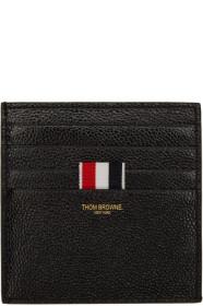 Thom Browne 톰 브라운 Black Double-Sided Card Holder