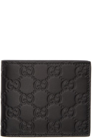 Black '구찌 Gucci Signature' Wallet